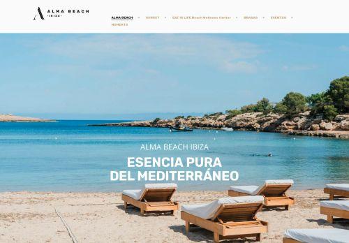 Alma Beach Restaurant - Port Des Torrent Ibiza